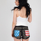 American flag pocket studded shorts by reverse | clothes bottoms | bogatte