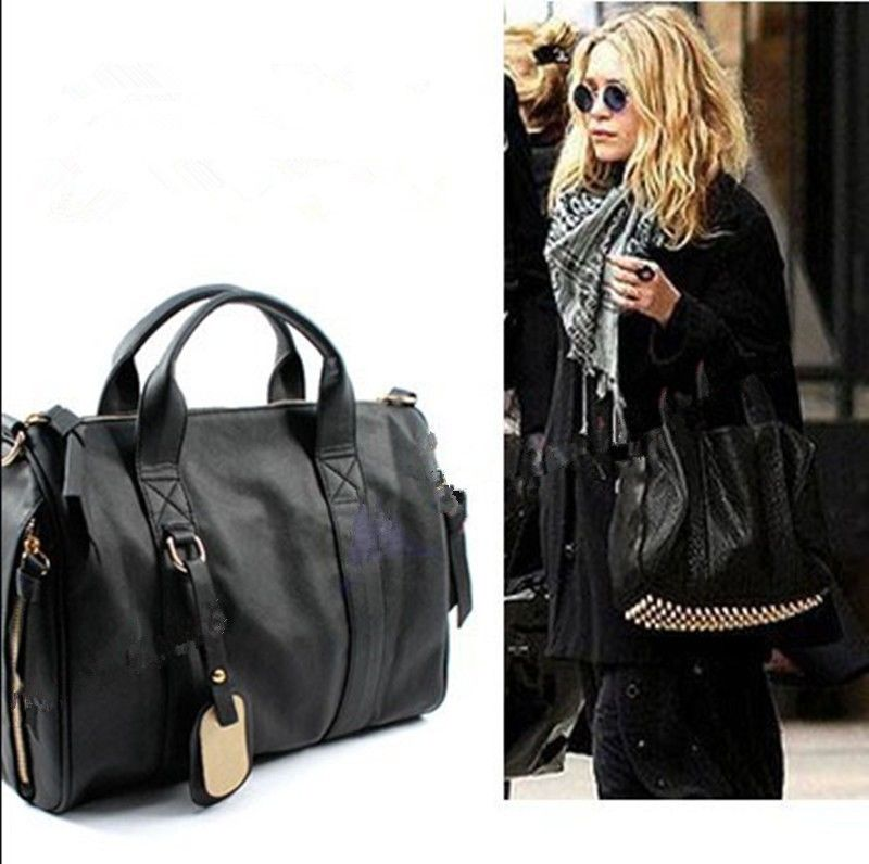 New Fashion Handbag Studs Studded Rivet Bottom Tote Stud Studed Travel Bag | eBay