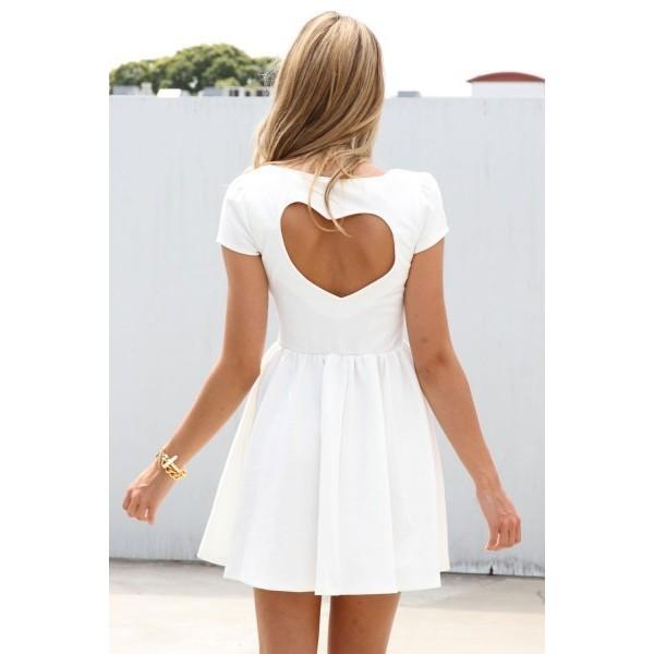 Sabo skirt heart back dress