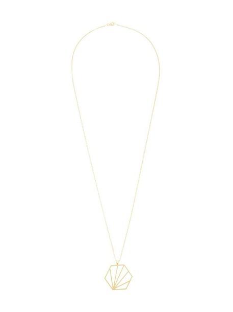 rachel jackson women necklace gold silver grey metallic jewels