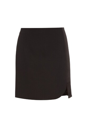 skirt mini skirt mini black