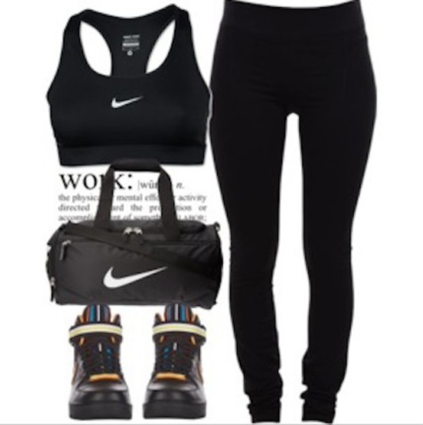 Wear to what with black leggings polyvore catalog photo