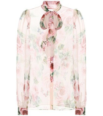 shirt chiffon silk top