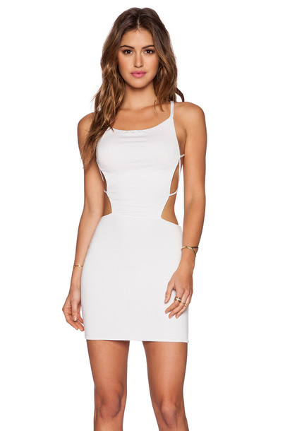 Indah dress mini dress mini white