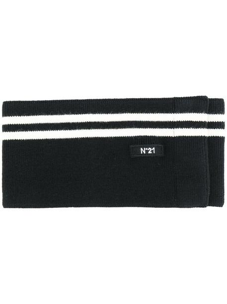 belt black knit