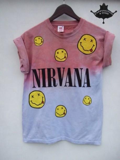 t-shirt nirvana t-shirt