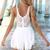 Pixie Playsuit - White | SABO SKIRT