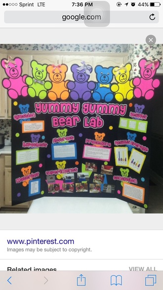 home accessory gummy bear shirt gummy bears science blue green pink black science pun yellow orange bow print letter letters