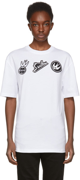 McQ Alexander McQueen t-shirt shirt t-shirt white top