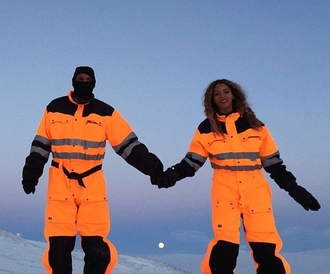 beyonce jay z jumpsuit winter outfits pants winter sports