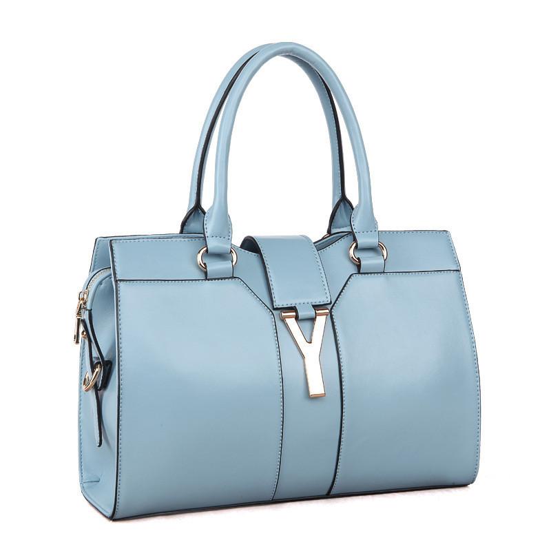 71279cad64 Mixed Color Genuine Leather Womens Bag 14 Colors Famous Brand Designer Y  Buckle Shoulder   Handbags Tote ...