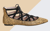 shoes,flats,spring,festival,strappy flats,animal print,leopard print,spring accessory