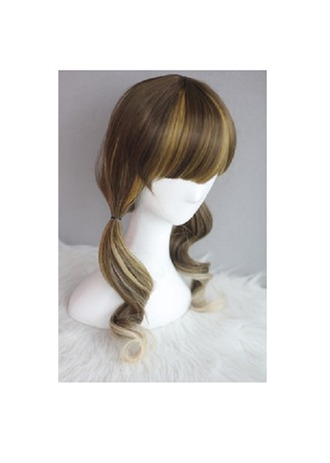 hair accessories wig hair curly japan gyary ulzzang korea taobao cosplay cosplay wigs highlights