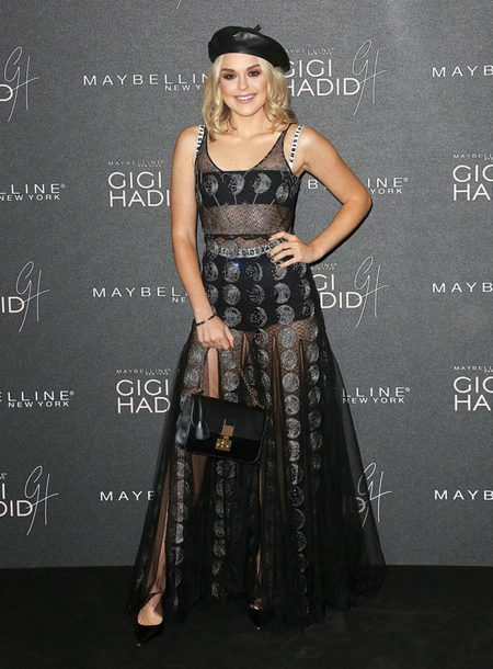 dress black dress gown maxi dress lace dress hat see through see through dress tallia storm sheer