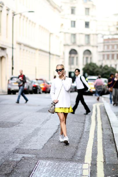 framboise fashion blogger bag sunglasses