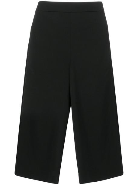 Tibi cropped women spandex black pants