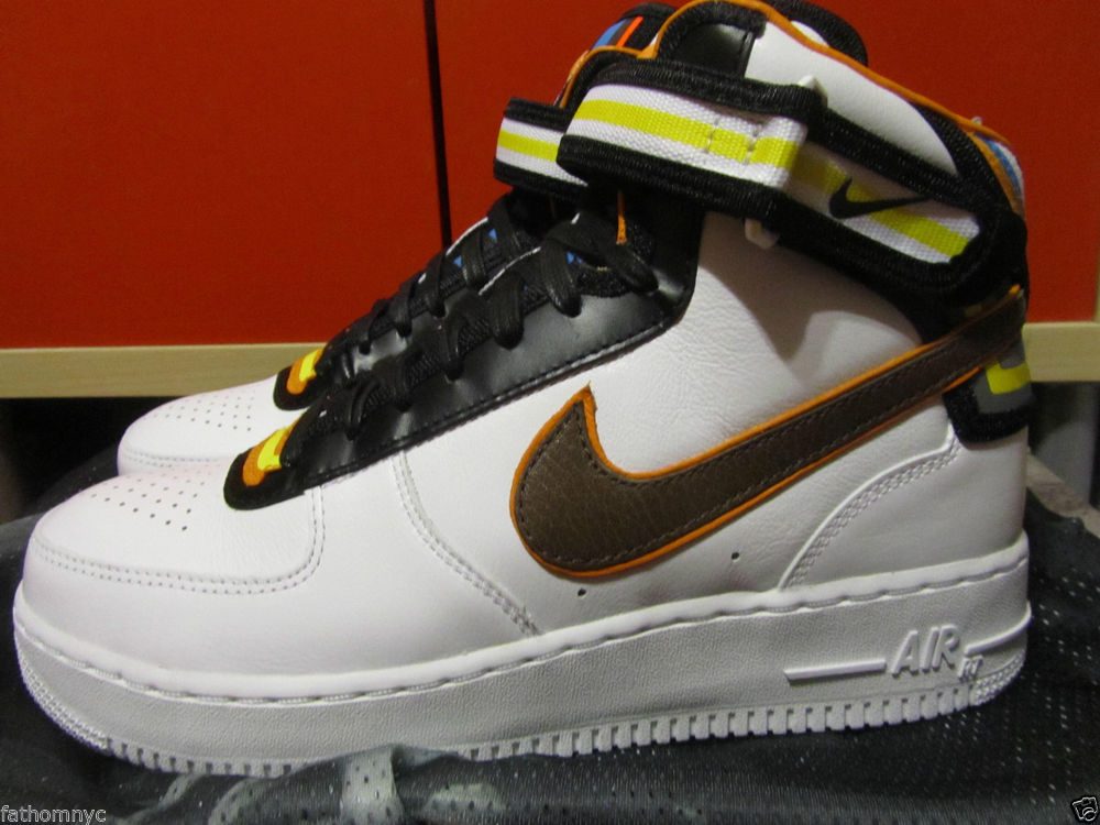 huge discount 06b04 dda87 NIKE X RICCARDO TISCI AIR FORCE 1 ONE AF1 MID RT WHITE RIHANNA 677130-120  8-13