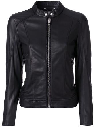 jacket biker jacket women black