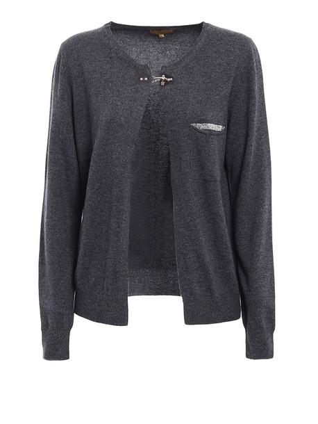 FAY cardigan cardigan embellished wool sweater