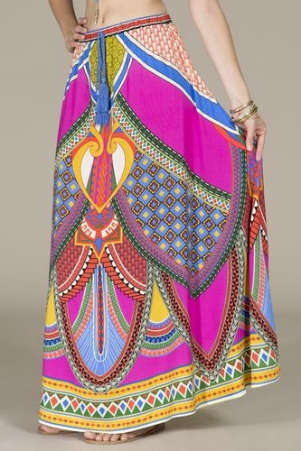 Flying Tomato Boho Princess Maxi Skirt