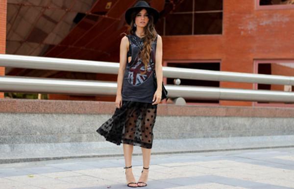madame rosa t-shirt skirt bag shoes