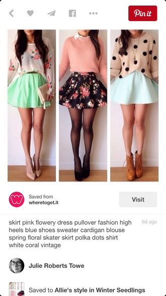 skirt floral skirt black skirt fashion cute skirt cute skirts