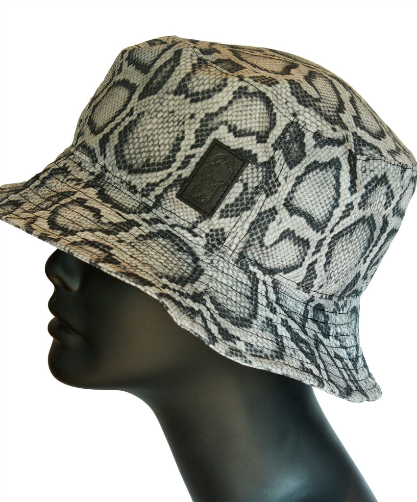 Snakeskin Bucket Hat – Created by Fortune 2bab859c8e3