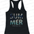 Women's Beach Tank Tops Summer Please Don'T Go Racerback Style | eBay