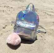 bag,holographic bag