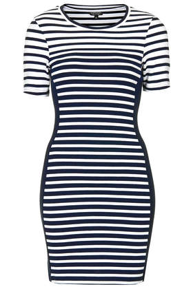 Stripe Bodycon Tunic - Topshop