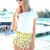 Multi Shorts - Pineapple Print Lightweight Shorts with | UsTrendy