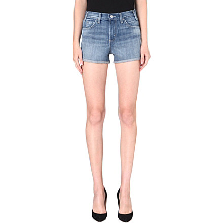 LEVI'S - High-rise denim shorts | Selfridges.com