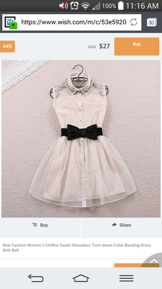 buttons black bow collar illusion homecoming dress