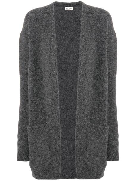 MASSCOB cardigan cardigan loose women wool grey sweater