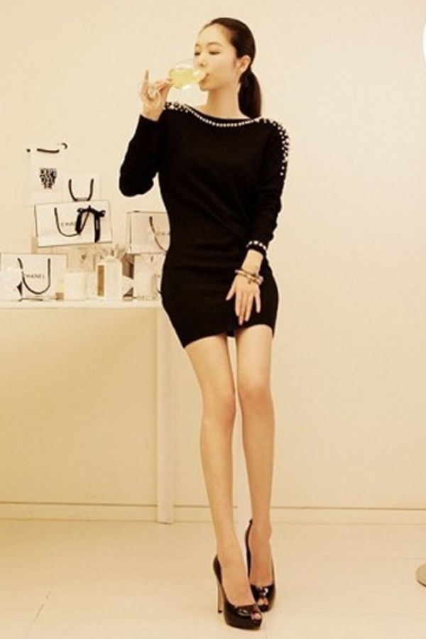 dress fashion dress black dress dress fashion clothes black short dress sexy dress