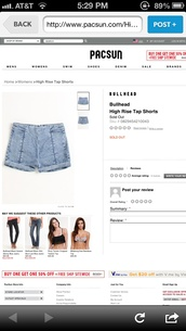 shorts,bullhead,pacsun,kendall and kylie,brandy melville,high rise,tap shorts,jeans,High waisted shorts,vinatge,hipster,cute outfits,blue jean shorts
