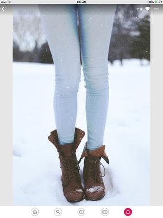 shoes brown combat boots combat boots