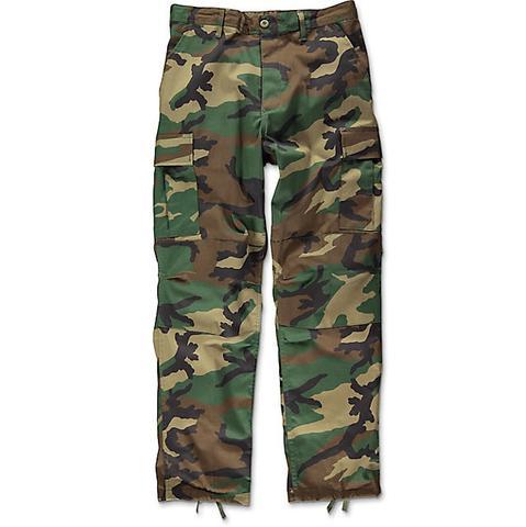 Camo BDU pants - Woodland