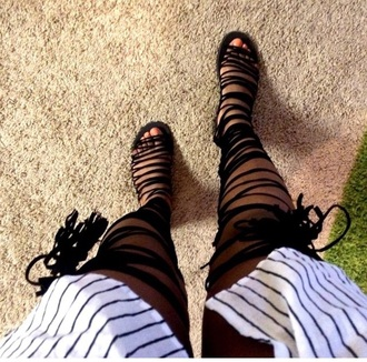shoes sandals lace up flats