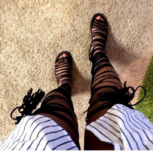shoes sandals lace up flats
