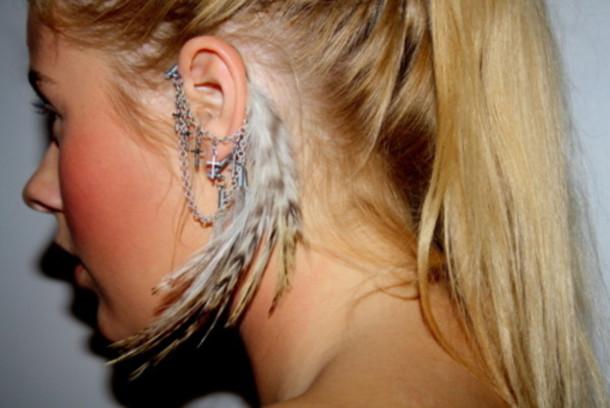cross earrings jewels