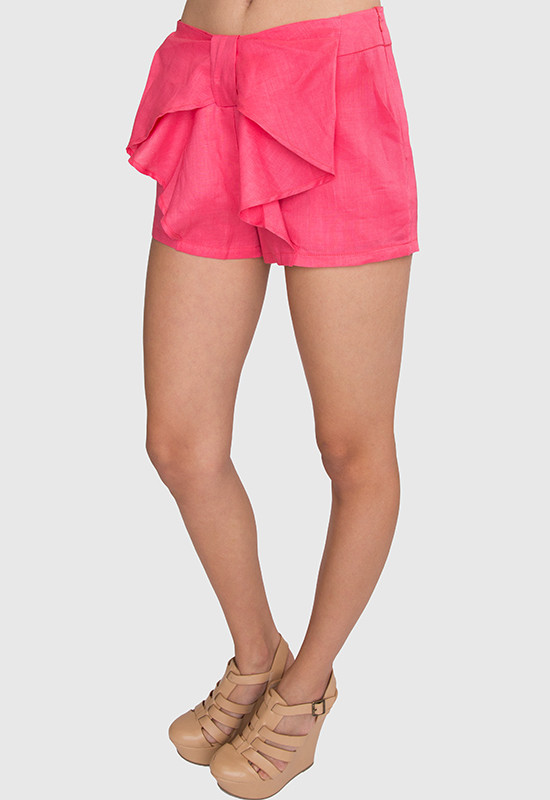 Young   lovely bow shorts