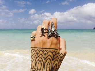 jewels boho ring tooth ring vintage skull ring jewelry silver ring shark tooth shark tooth jewelry