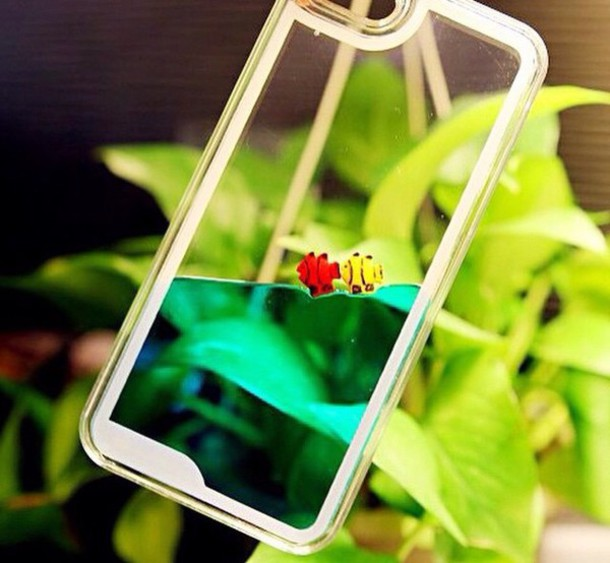 phone cover fish tank iphone case