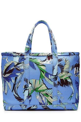 cotton blue bag