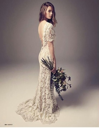 dress vintage lace wedding dresses bohemian boho