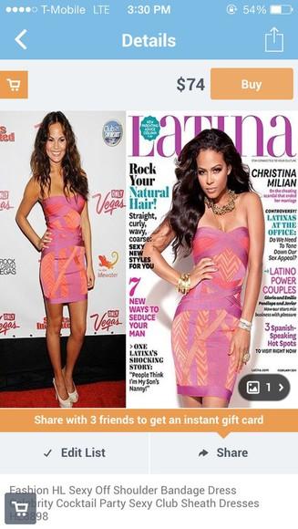 coral dress latina magazine purple dress purple and coral