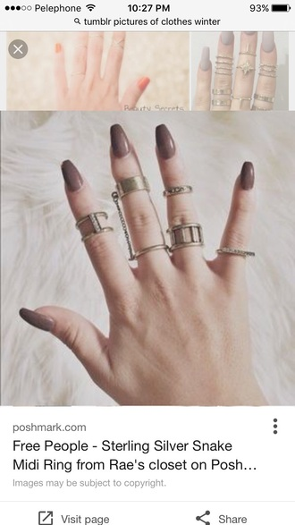 jewels jewelry knuckle ring ring gold ring