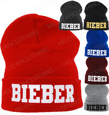 Justin Bieber Beanie 1994 ONE Size Fits ALL Kids AND Adult | eBay