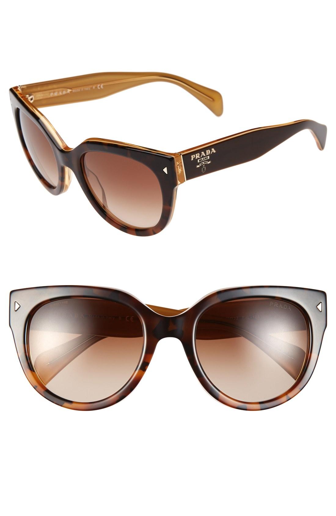 b3d90c1763971 Prada Purple Cat Eye Sunglasses